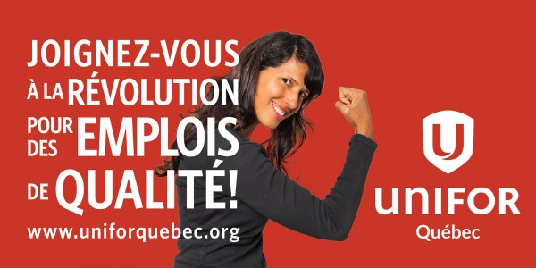 UNIFOR - /REPRISE -- Unifor tiendra un « sommet national